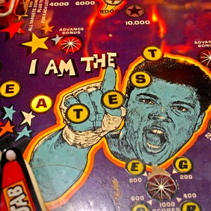 muhammad ali pinball machine_i am the greatest